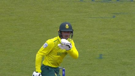 CWC19: SA v BAN - All wickets from South Africa innings