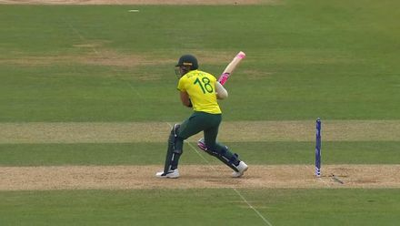 CWC19: SA v BAN - South Africa innings highlights