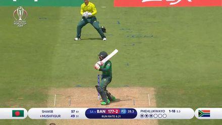 CWC19: SA v BAN - Bangladesh hit tournament-high 330