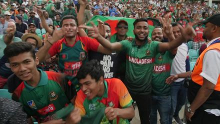 CWC19: SA v BAN - The Tigers' fans react to their side's stunning win