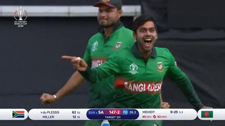 CWC19: SA v BAN - Match highlights