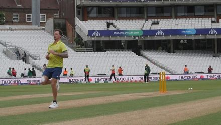 CWC19: Dale Steyn goes through his paces as he continues recovery path