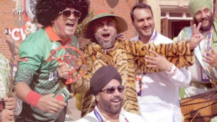 CWC19: SA v BAN - Bangladesh fans turn out in force