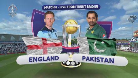 CWC19: Eng v Pak - Highlights of Pakistan's innings