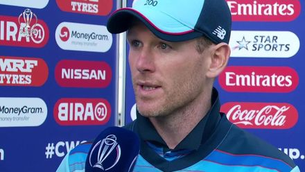 CWC19: Eng v Pak - Post match interviews: Hafeez, Morgan, Sarfaraz