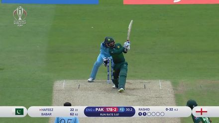 Nissan POTD: Hafeez hits Rashid for a big straight six