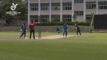 ICC U19 CWC EAP Qualifier: Samoa v Fiji, Ledua Gauna's 2/14 in 6 overs