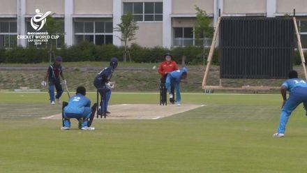 ICC U19 CWC EAP Qualifier: Samoa v Fiji, Apete Sokovagone's 4/31 in 8 overs