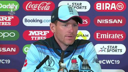 CWC19: Eng v Pak - Morgan: 'It was just a really bad day in the field'