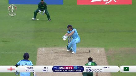 CWC19: Eng v Pak - All wickets from England innings