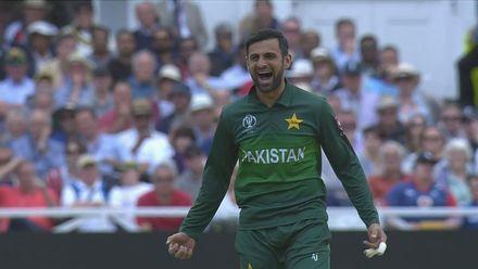 CWC19: Eng v Pak - Shoaib Malik has Ben Stokes caught behind