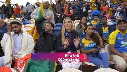 CWC19: Elma sits with supporters of both sides