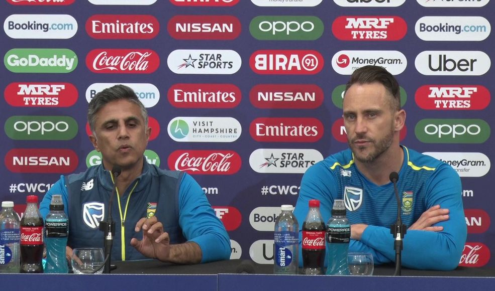'Need to make sure the guys are motivated' – Faf du Plessis