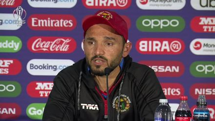 CWC19: AFG v SL - Gulbadin Naib 'We started poorly with the ball'
