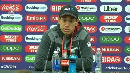 CWC 19: BAN v NZ – Ross Taylor Post-match conference