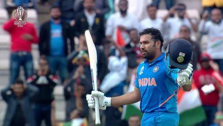 CWC19: SA v IND - Rohit Sharma's 100