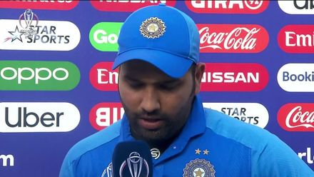 CWC19: SA v IND - Player of the Match, Rohit Sharma