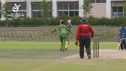 ICC U19 CWC EAP Qualifier: Fiji v Vanuatu, Edwell Kalfau picks up 3/19