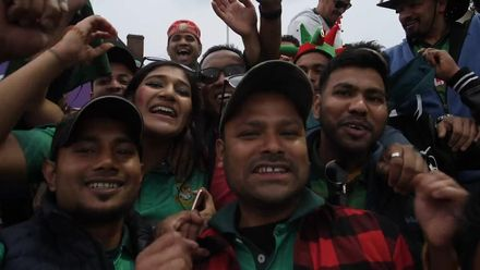 CWC19: BAN v NZ - Bangladesh fans have had a great day