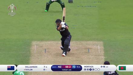 CWC19: BAN v NZ - Highlights of Taylor's 82