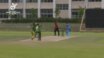 ICC U19 CWC EAP Qualifier: Fiji v Vanuatu, two run-outs in quick succession hurt Vanuatu