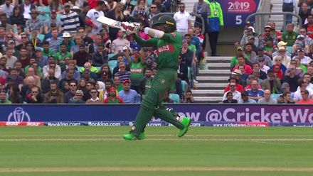 CWC19: BAN v NZ - Mithun becomes Henry's second wicket