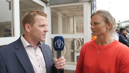 CWC19: BAN v NZ - Niall speaks to Suzie Bates