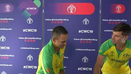 CWC19: Marcus Stoinis and Usman Khawaja play Charades!