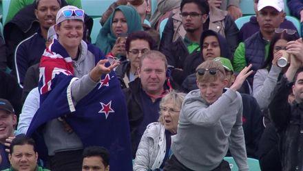CWC19: BAN v NZ - New Zealand fans enjoying themselves