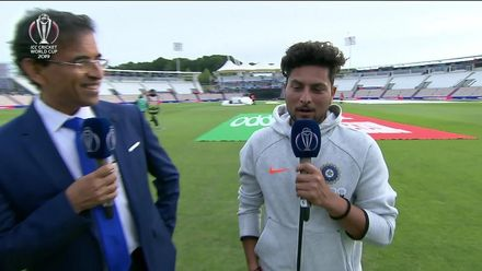 CWC19: SA v Ind - The Review with Harsha, Kuldeep & Ridhima