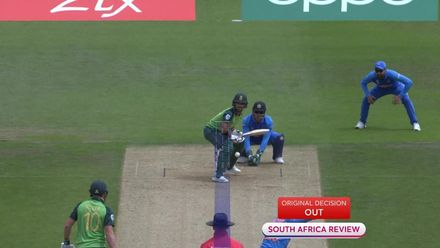 CWC19: SA v IND - Duminy trapped in front