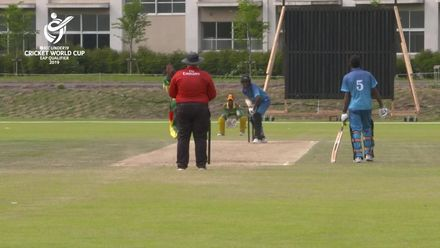ICC U19 CWC EAP Qualifier: Fiji v Vanuatu, Nono Chillia takes 3/10 to complement his knock of 40 from 65 balls