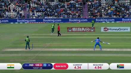 CWC19: SA v IND - Yes... no... sorry