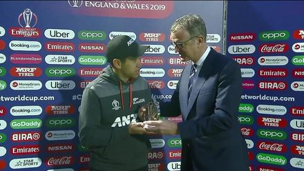 CWC19: BAN v NZ - Player of the match, Ross Taylor