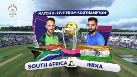 CWC19: SA v IND - Match highlights