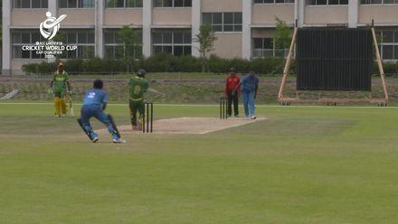 ICC U19 CWC EAP Qualifier: Fiji v Vanuatu, Nono Chillia hits 40 from 65 balls