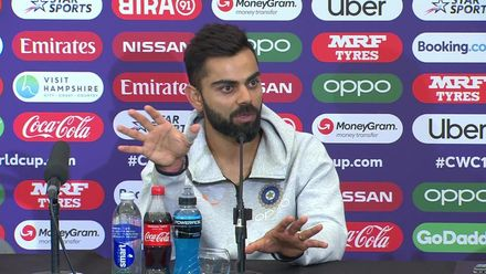 CWC19: SA v IND - Virat Kohli press conference