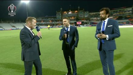 CWC19: Ban v NZ - The Review with O'Brien, McCullum & Athar Ali