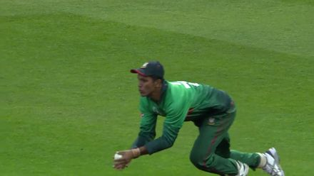CWC19: BAN v NZ - Mehidy strikes for the second time in an over