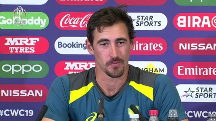 CWC 19: AUS v WI – Mitchell Starc Post-match conference