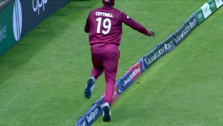CWC19: 'Flip it up, watch it all the way' – Cottrell on his stunning catch
