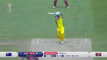CWC19: AUS v WI - Highlights of Steve Smith's 73