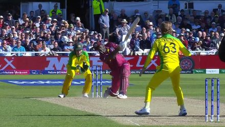Nissan POTD: Andre Russell's 103m hit