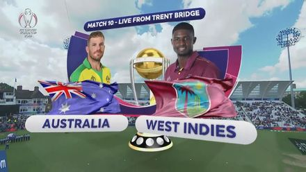 CWC19: AUS v WI - Australia innings highlights