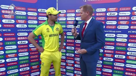 CWC19: AUS v WI - Interview with player of the match Nathan Coulter-Nile