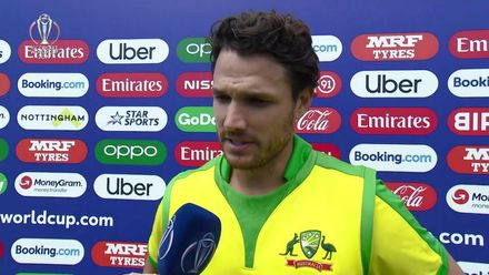 CWC19: AUS v WI - Nathan Coulter-Nile interview