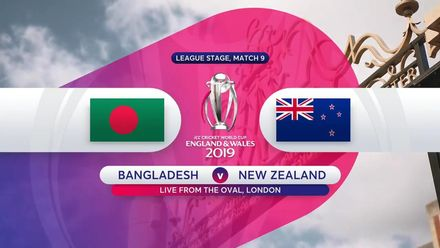 CWC19: BAN v NZ - Match highlights
