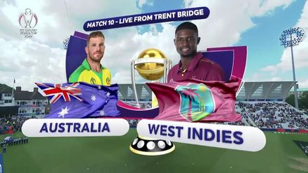 CWC19: AUS v WI - Match highlights