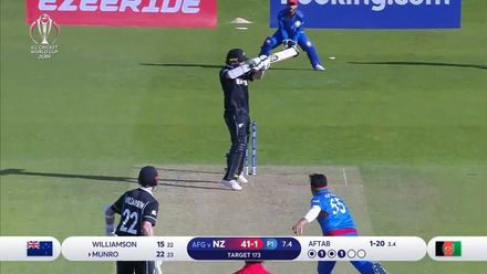 CWC19: AFG v NZ - Match highlights