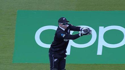 CWC19: AFG v NZ - Noor Ali gloves through to Latham